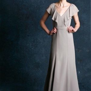 Jenny Yoo Cecelia formal bridesmaid cocktail gown